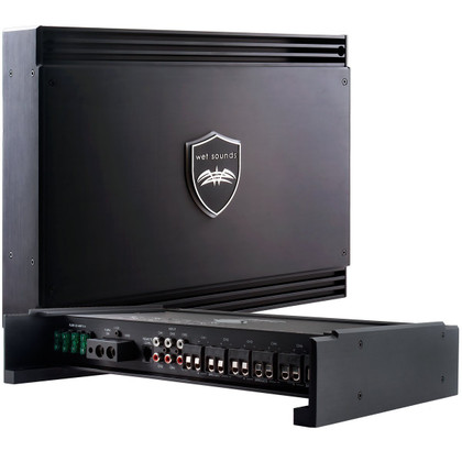 Wet Sounds Sinister Series SD6 Amplifier - Class D 1750 Watt Full Range Amp