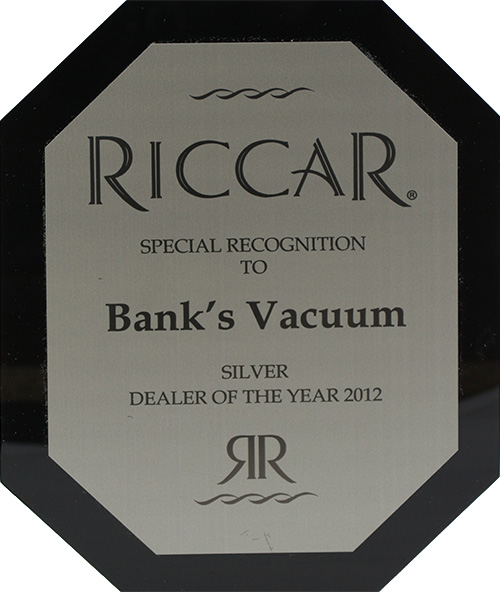 Riccar - Silver Dealer of the Year - 2012