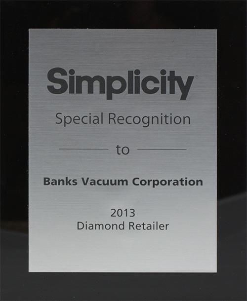 Simplicity - Diamond Retailer- 2013