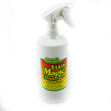 Bank S Stain Magic 32oz Carpet Cleaner Stainmagic Bank S