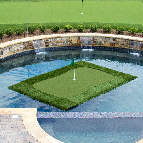 """The 8'x12' """"Major"""" Floating Golf Green"""