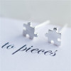 Love You to Pieces Stud Earrings
