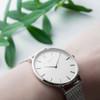 Women's Personalised Metallic White Face Watch