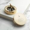 Brass Sundial Compass - Vector