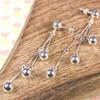 Silver Cascade Earrings