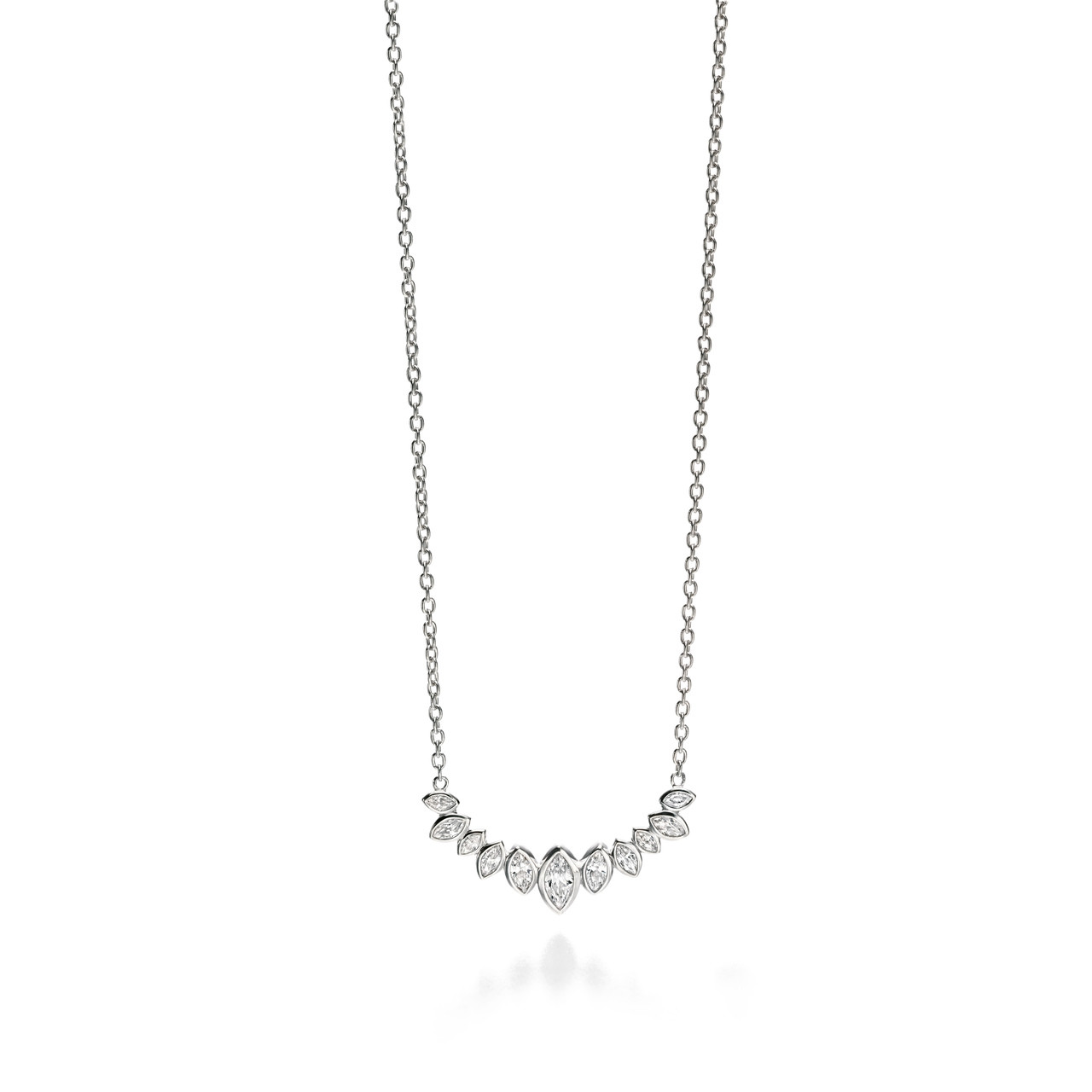 necklace tiny adina reyter marquise products pave pav