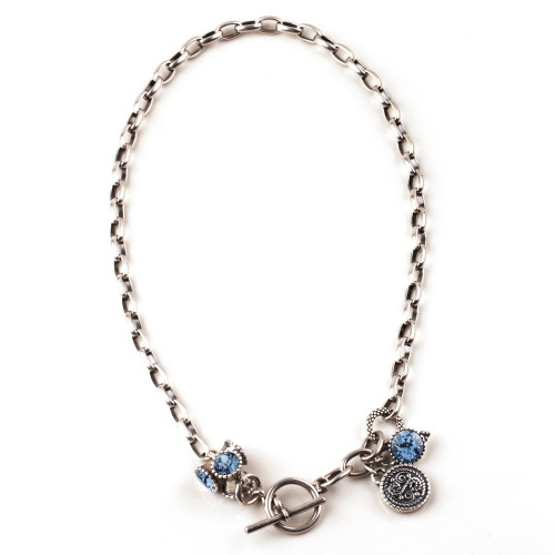 Miglio Blue Explorer Necklace