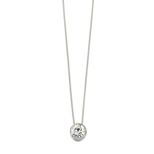 Silver and Swarovski Crystal Pendant