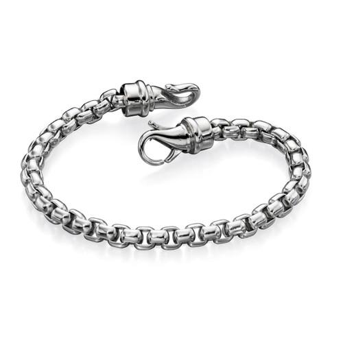 Fred Bennett New Gent Large Belcher Link Bracelet - 21.5cm - B4563