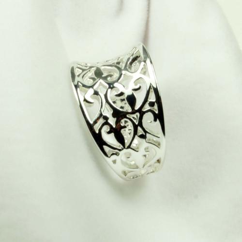 Filigree Silver Ring