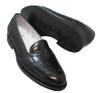 Alden Men's Full Strap Slip-On Loafer in Black Shell Cordovan #6845