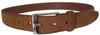 Alden - Snuff Suede 35mm Calfskin Belt with Nickel Buckle