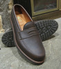 Alden Men's Leisure Handsewn in dark brown Kudu leather with lug rubber outsole #5730s