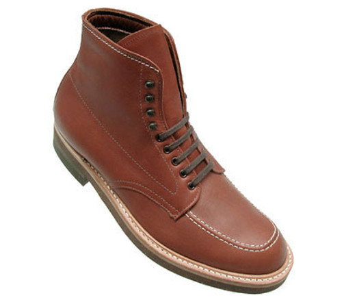 Alden Men's Indy Work Boot Original Brown Leather # 405