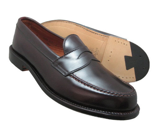 Alden - Men's Leisure Handsewn in Color 8 Shell Cordovan #986