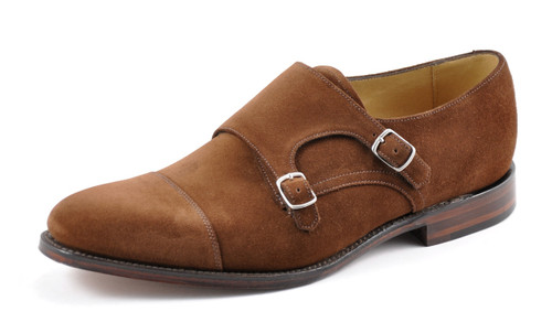 Loake Cannon Brown Polo Suede