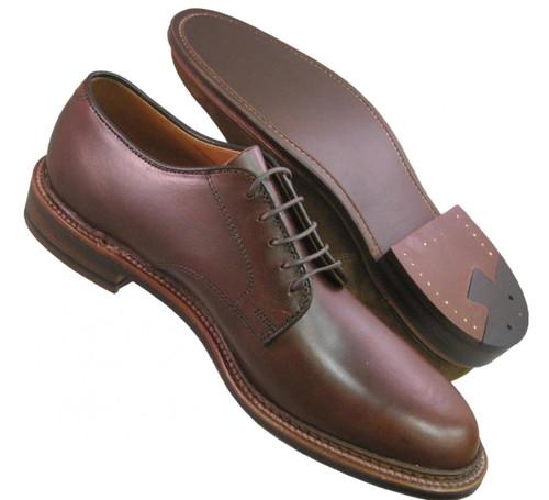 Alden Men S Plain Toe Blucher Color 8 Shell Cordovan 990