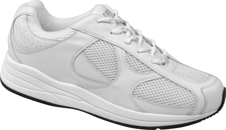 Men's Drew Surge, Size: 11.5 W, White Leather/Nubuck/Mesh