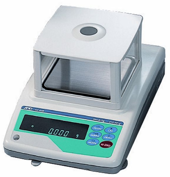 A&D Weighing GF-400 (with shield)
