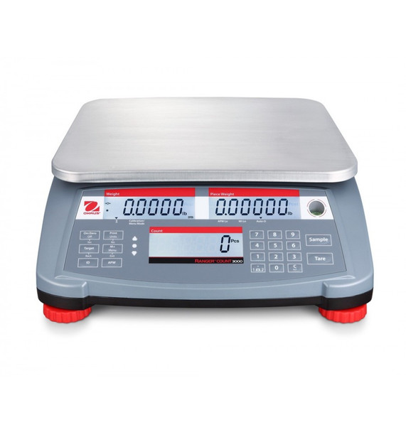 OHAUS Range Count 3000 RC31P3 Front View