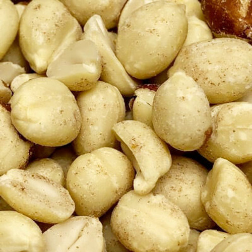 Raw blanched peanuts. No shell. Sold by the lb.