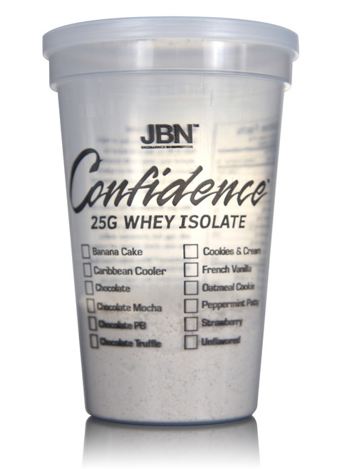 Confidence™ Whey Isolate Sample Pack (3 cups)