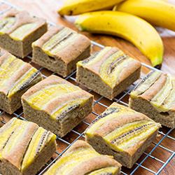 Banana Protein Cake