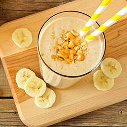 Banana Elvis Protein Shake