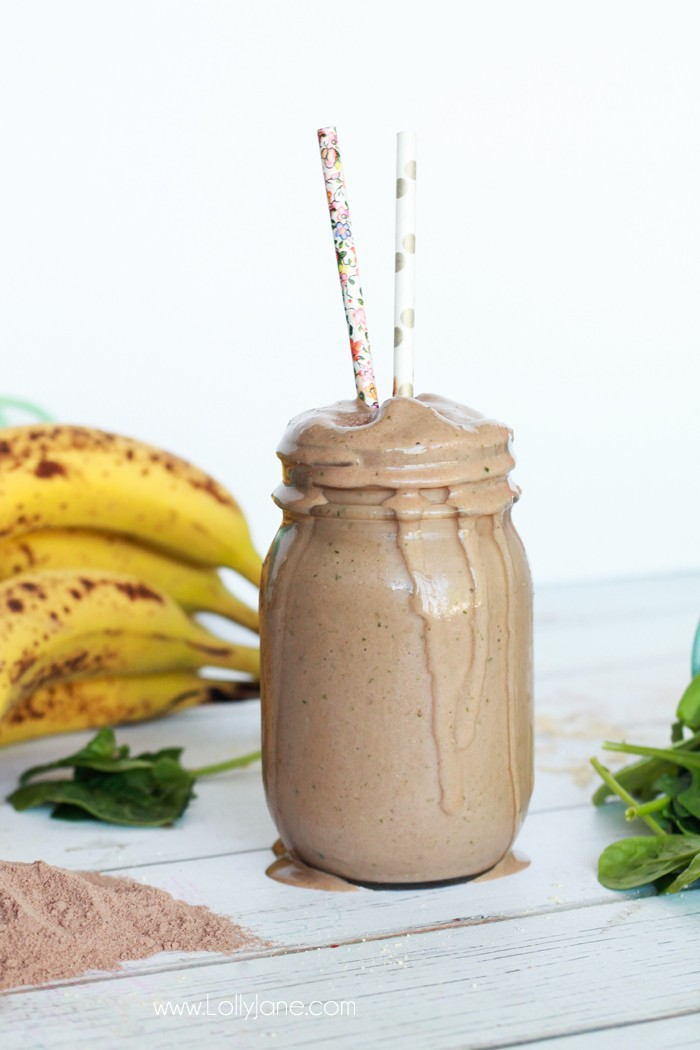 Peanut Butter & Jelly Protein Shake