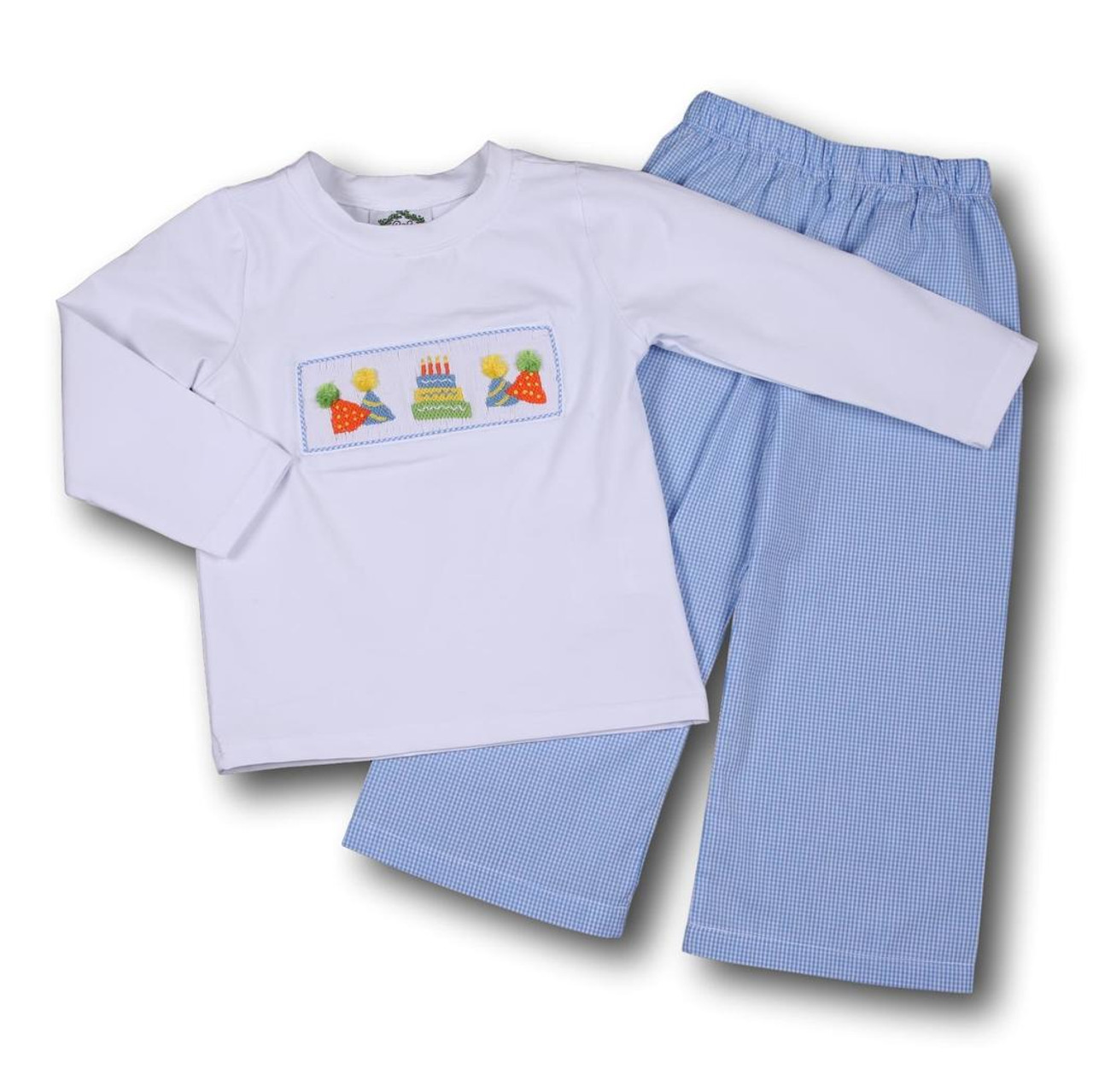 Long Sleeve Birthday Shirts For Toddlers
