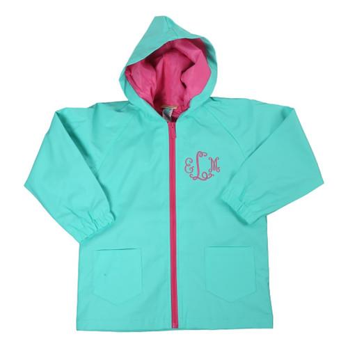 Aqua Raincoat