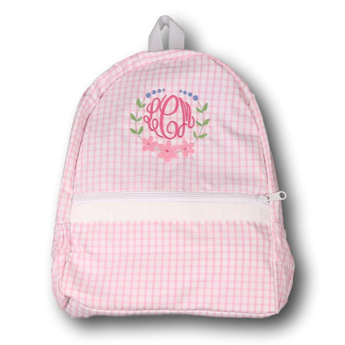 Pink Windowpane Backpack (POCL-ACC1-18)