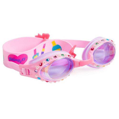 Pink Pearl Classical Kid's Swim Goggles (ISCL-PPC-18)