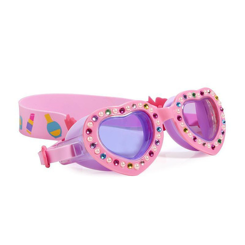 Powder Puff Pink Kid's Swim Goggles (ISCL-PPP-18)
