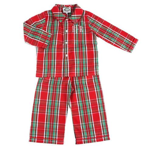 boys christmas plaid pajamas - Girls Christmas Shirts