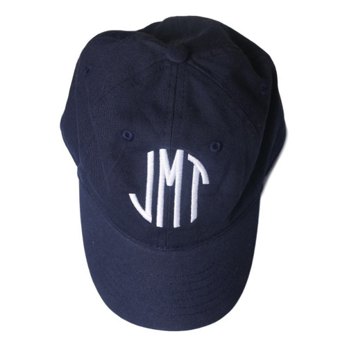 Personalized Navy Child's Cap at Cecil and Lou