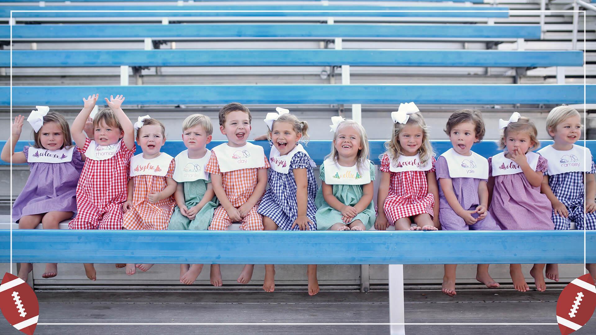 Children's College Clothing