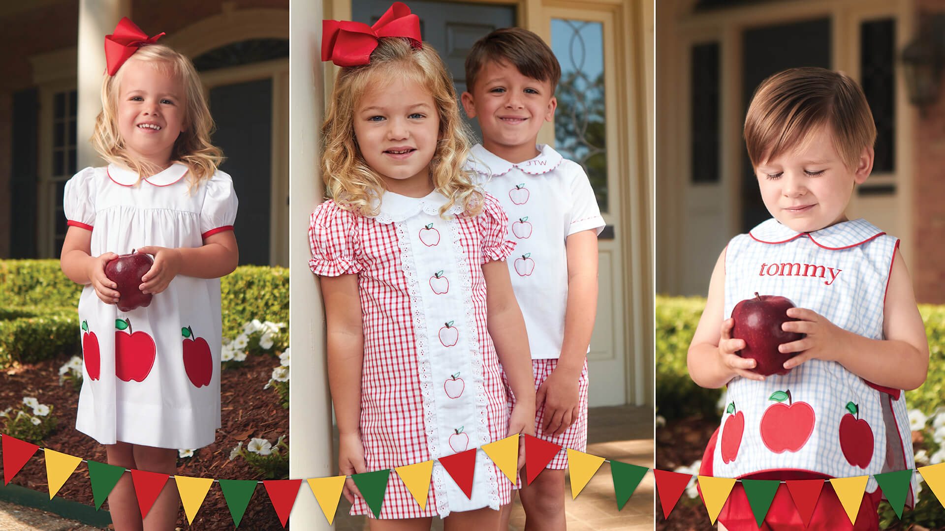 Smocked and Monogrammed Children's Clothing