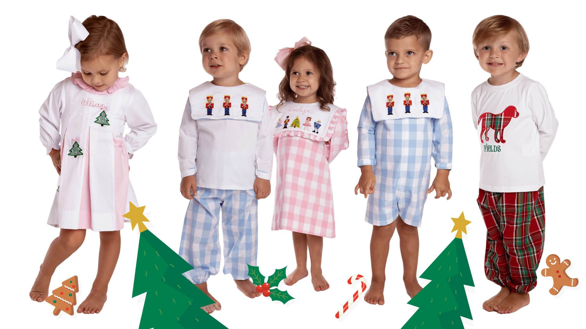 Children039s Christmas Outfits At Cecil