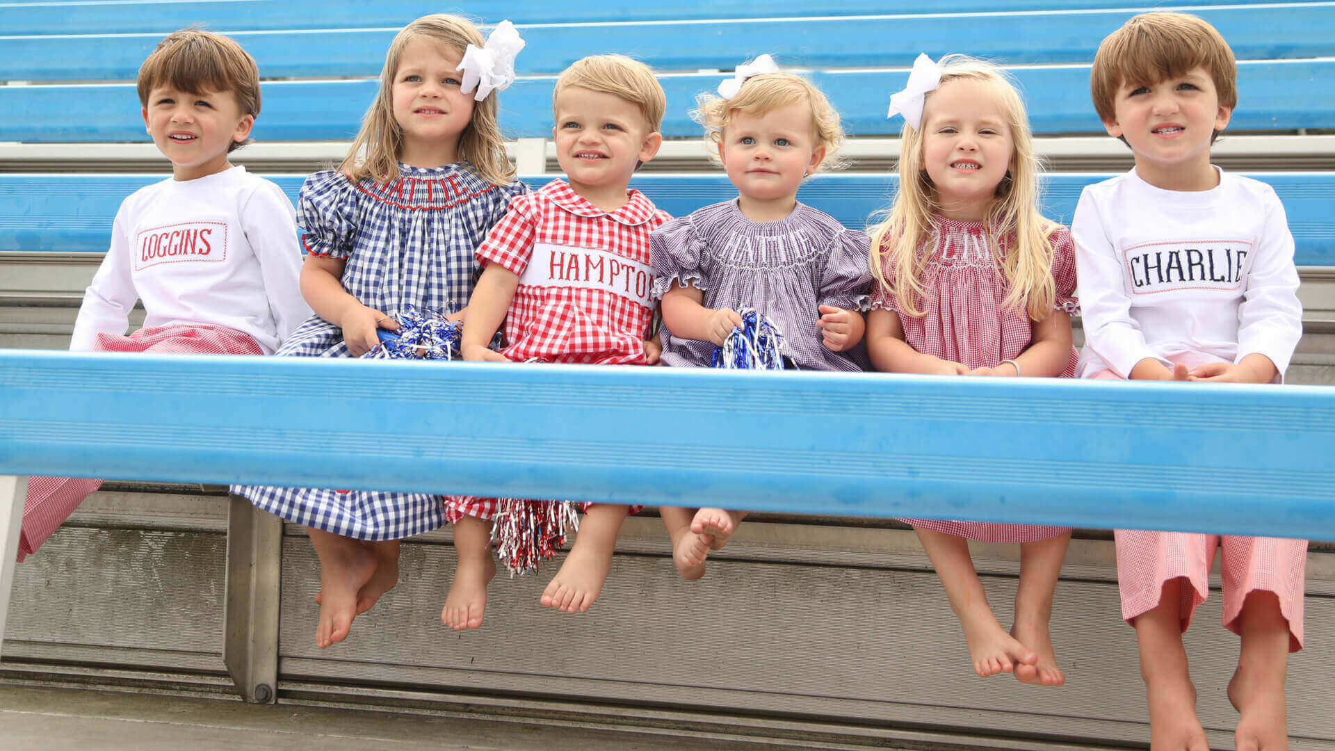 collegiate collection by cecil and lou - kids college color clothing