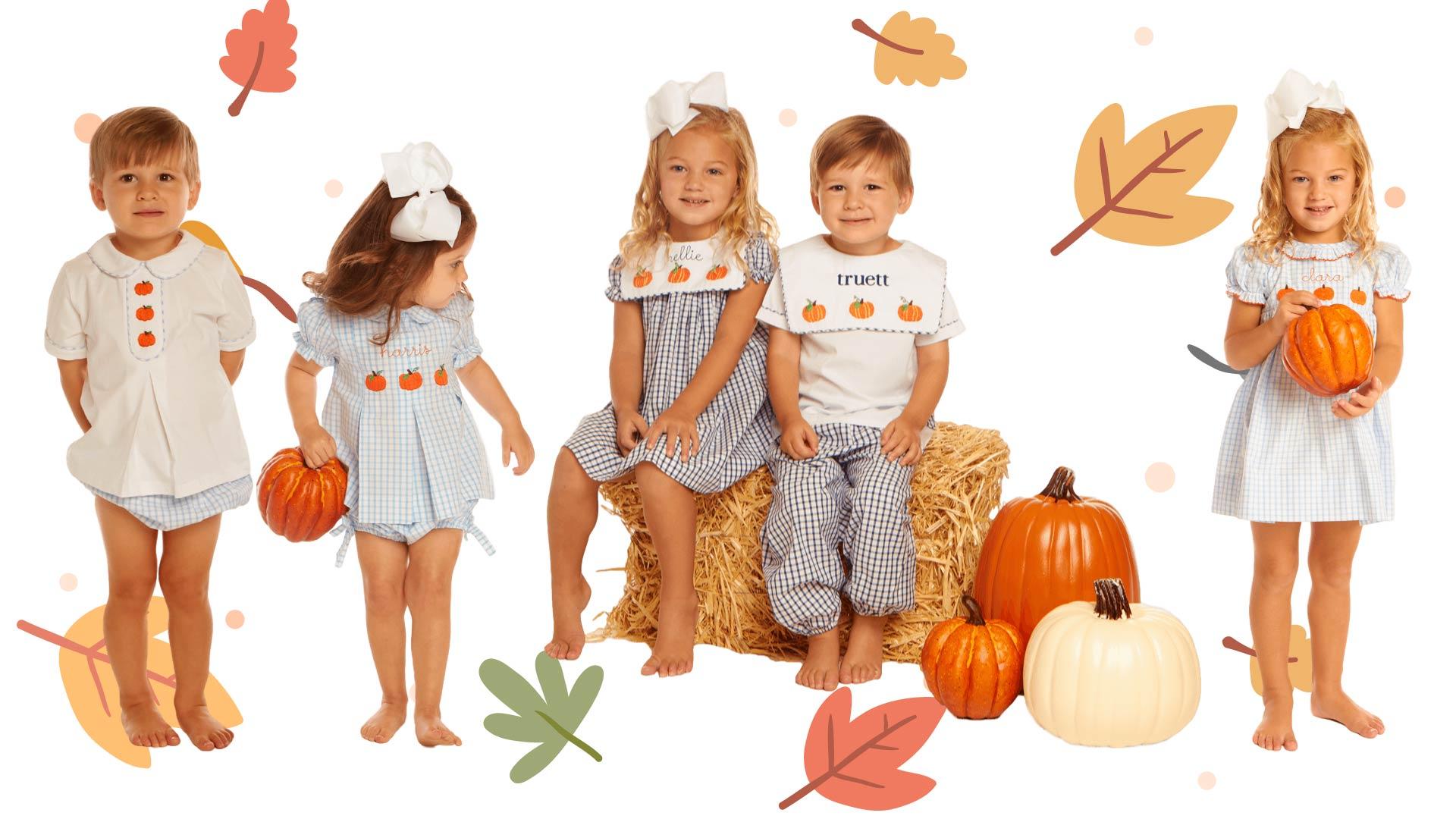 Childrens Pumpkin Patch Clothing