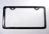 14-17 Chevy Corvette C7 Z06 License Plate Frame Carbon Flash Metallic Black 50 State Legal