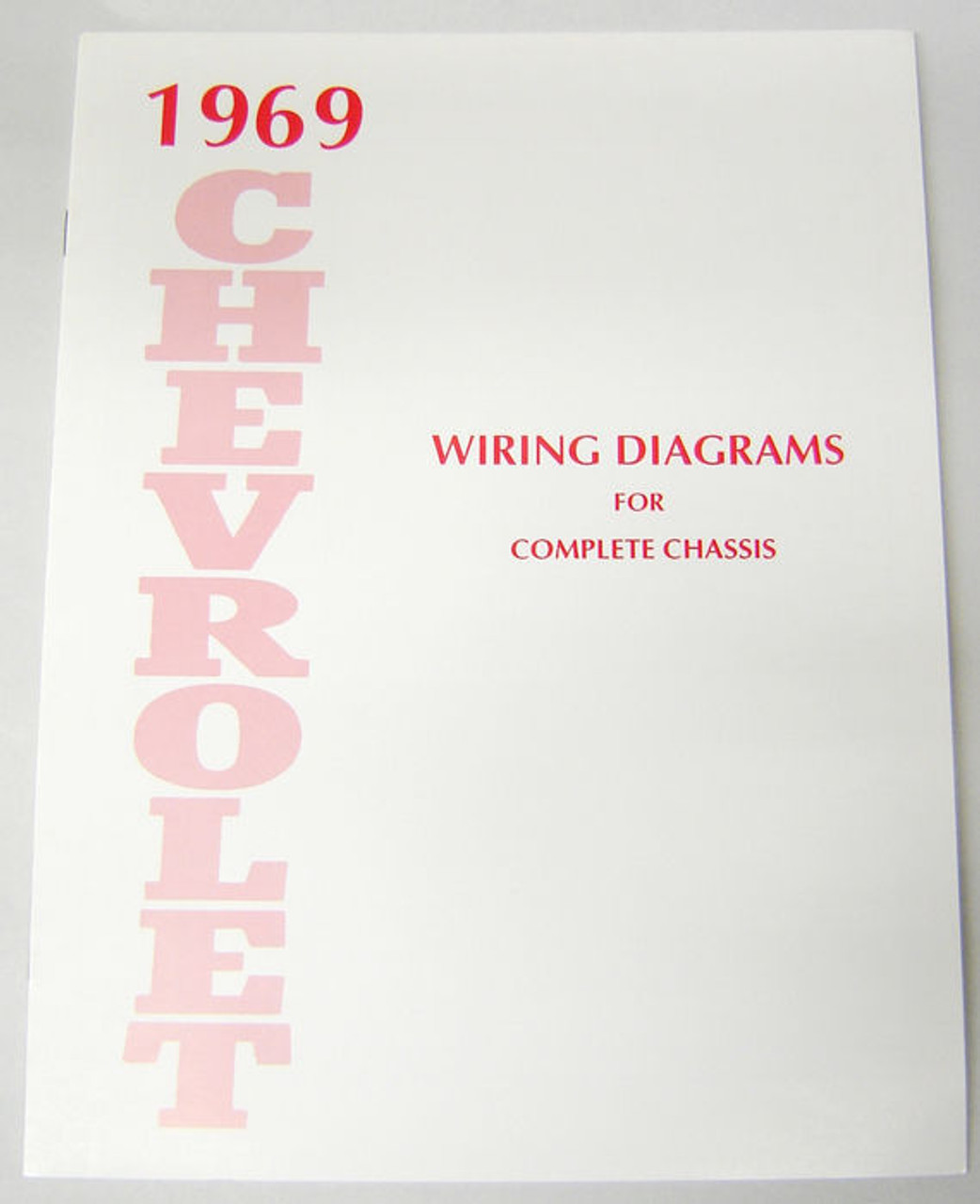 69 Chevy Impala Electrical Wiring Diagram Manual 1969 - I ...