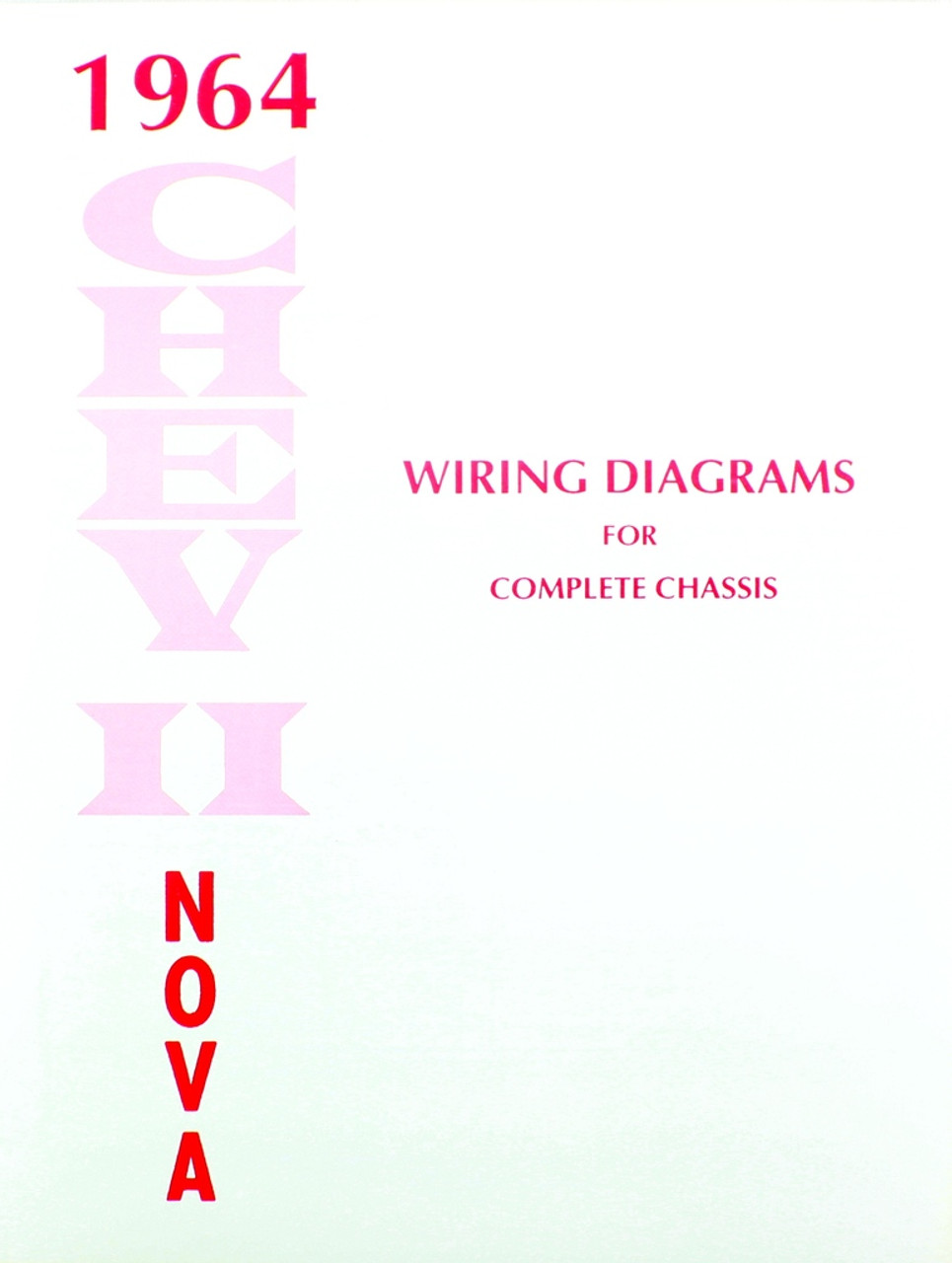 64 1964 Chevy Nova Electrical Wiring Diagram Manual I 5 Classic El Camino
