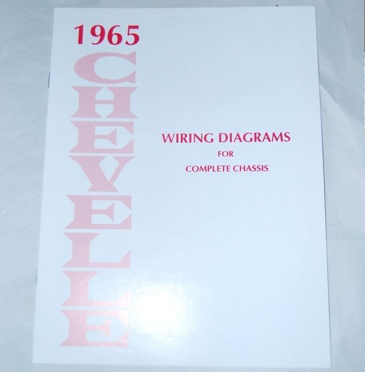 65 Chevelle El Camino Electrical Wiring Diagram Manual