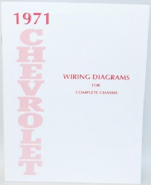 71 1971 Chevy Nova Electrical Wiring Diagram Manual - I-5 ...