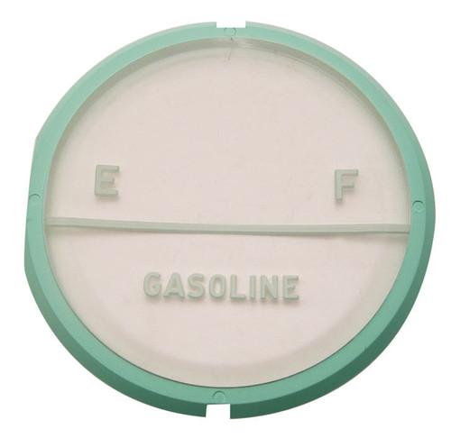 57 1957 CHEVY GAS FUEL LENS PLASTIC GAUGE FACE