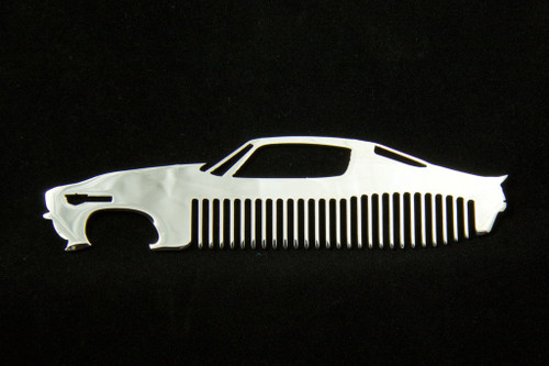 70-73 Chevy Camaro Polished Stainless Steel Metal Trim Beard Hair Mustache Comb