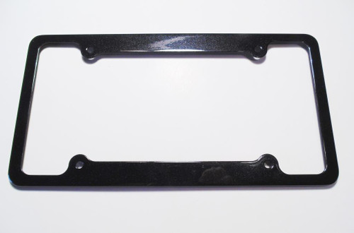 14-17 Chevy Corvette C7 Z06 License Plate Frame Carbon Flash Metallic Black