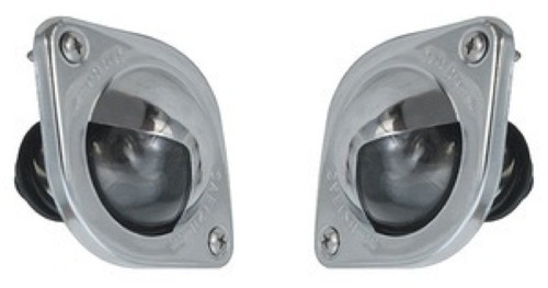 64 65 Chevelle El Camino Rear License Plate Light Assemblies New